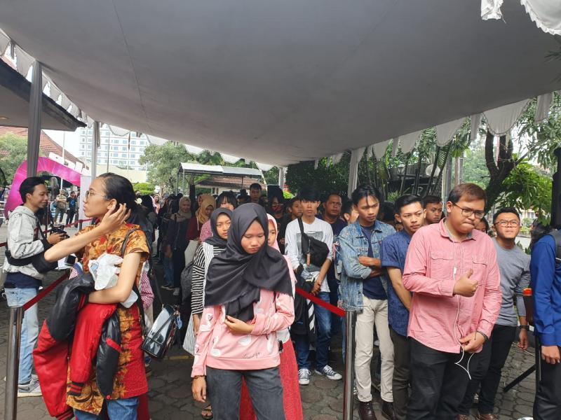 Big Audisi The Voice Indonesia 2019 Di Kota Bandung Diserbu Peserta