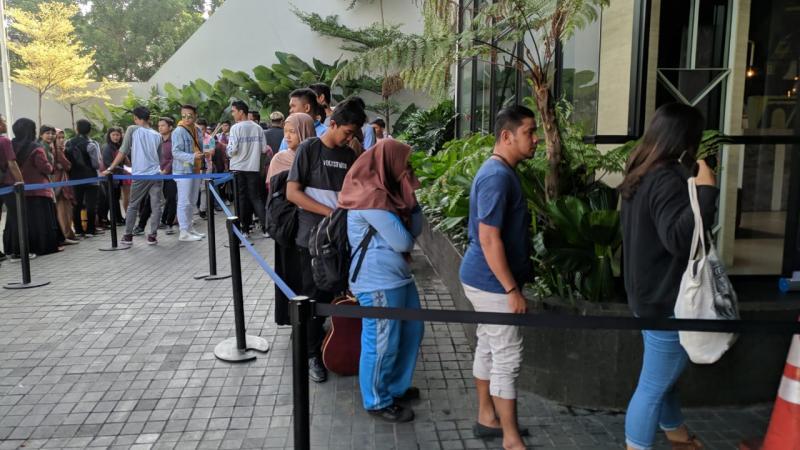 Guru Sekolah Menengah Coba Peruntungan di Audisi The Voice Indonesia Kota Medan.