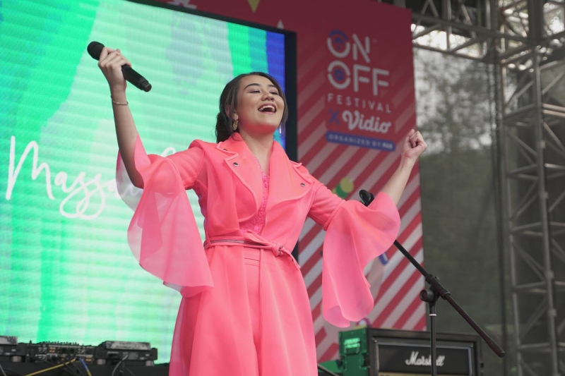 Aaliyah Massaid dan Aldy Maldini Meriahkan ON OFF Festival 2019