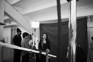 RAISA SHOOTING VIDEO CLIP UNTUK SINGLE TERBARUNYA