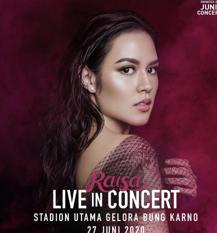 Penjualan  tiket Raisa Live in Concert Stadion Utama Gelora Bung Karno resmi dibuka