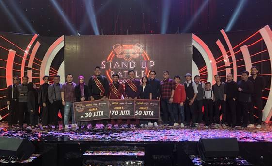 Ali Akbar Terpilih Menjadi Pemenang Kompetisi  Stand Up Battle Indonesia