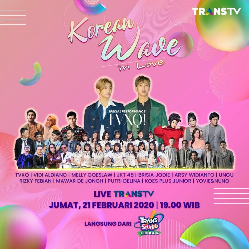 KONSER KOREAN WAVE IN LOVE 2020: TVXQ