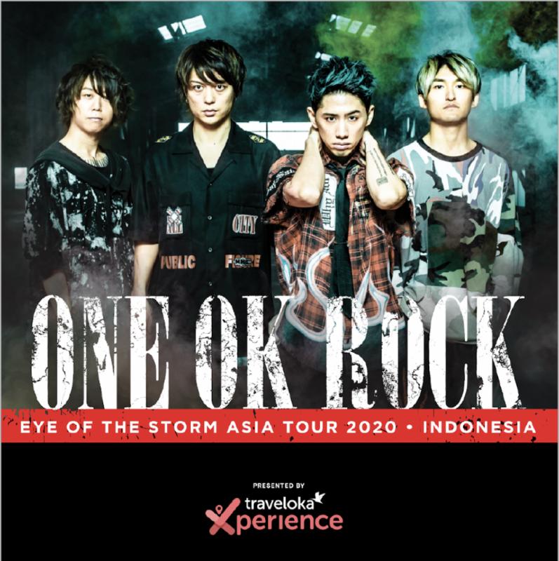 KONSER ONE OK ROCK Di Jakarta Resmi Ditunda Akan Dijadwalkan Ulang Di Waktu Yang Akan Datang