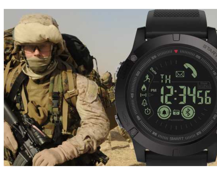 Super Tough Indonesia yang Terinspirasi Militer SmartWatch