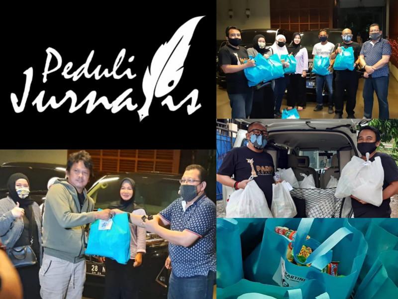 Sahabat Kartini dan Bahira Donasikan 1000 Paket Sembako