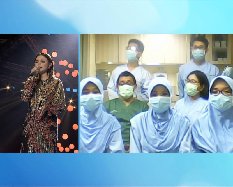Donasi Konser Amal Satu Indonesia Diserahkan Kepada Yayasan Peduli Kasih