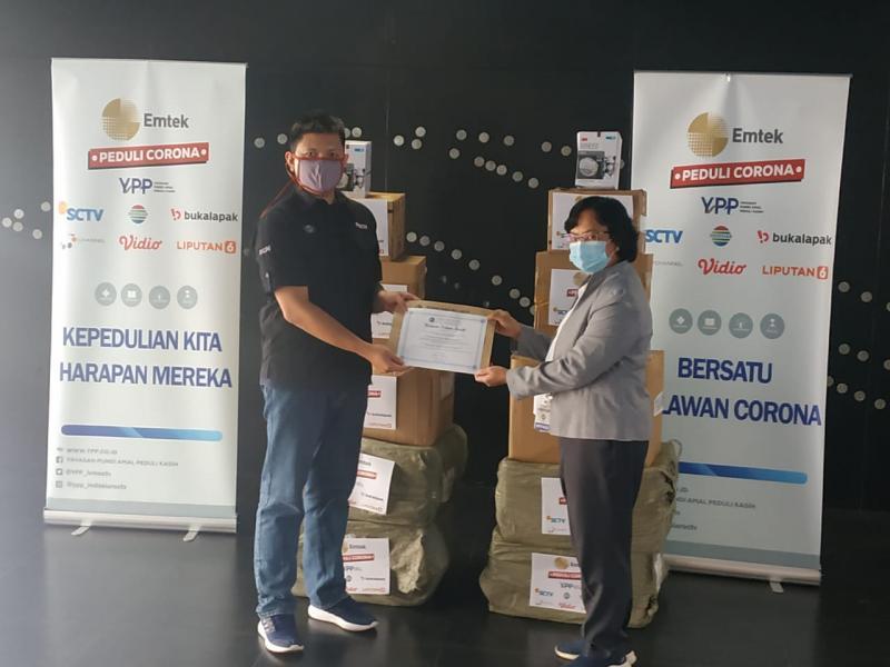 EMTEK PEDULI CORONA Kembali Salurkan Alat Pelindung Diri Untuk Rumah Sakit di Sulawesi Tenggara