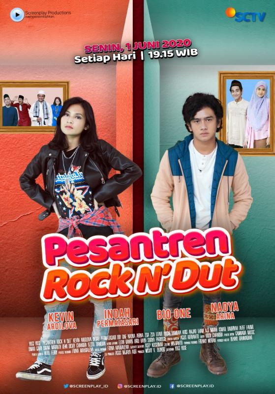 Sinetron Pesantren Rock n Dut Tayang di SCTV