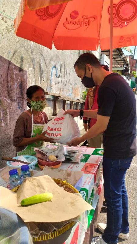 Dukung Gerakan Pakai Masker , EMTEK Peduli CORONA Sumbang 100.000 Masker Kain