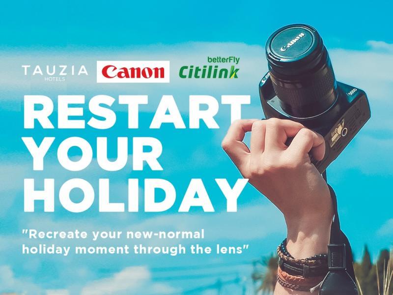 TAUZIA Hotels Meluncurkan Kontes Foto RestartwithTAUZIA Memperingati Hari Media Sosial 2020