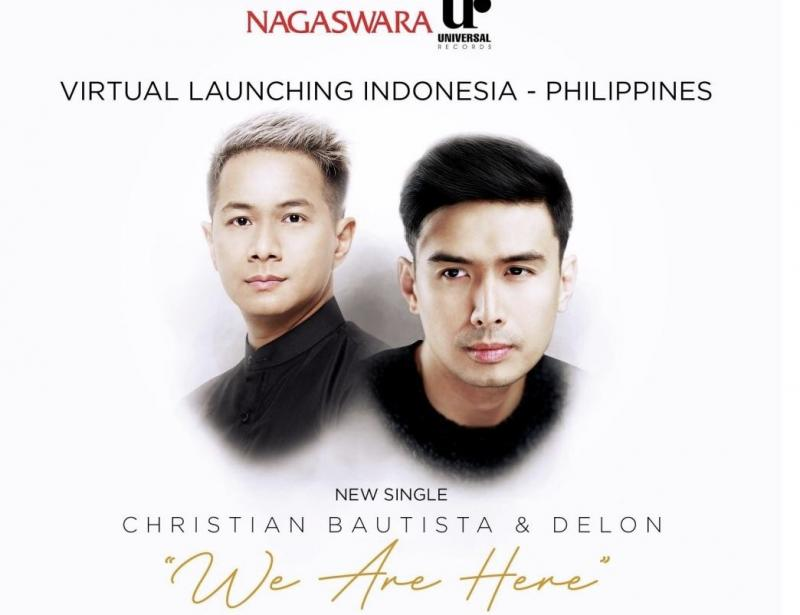 Delon dan Christian Bautista Duet Bawakan Lagu We Are Heredi