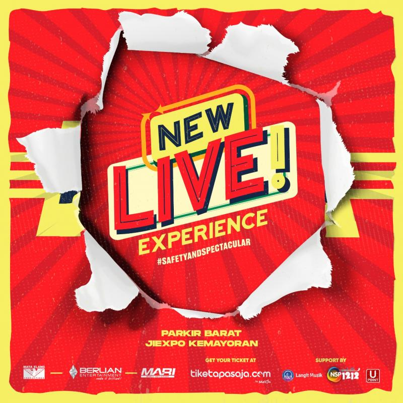 Drive-in Konser Kini Hadir dengan Nama Baru New Live! Experience
