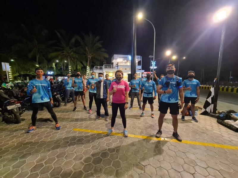 Serentak di 13 Kota, 100 Pelari Tempuh 86 KM Demi Membangun Sarana Air Bersih di Nusa Tenggara Timur