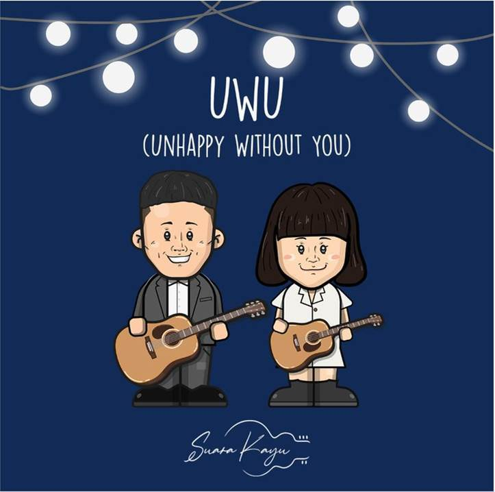 "Duo Folk-pop Suara Kayu Resmi Merilis Single ""UwU (Unhappy Without You)"""