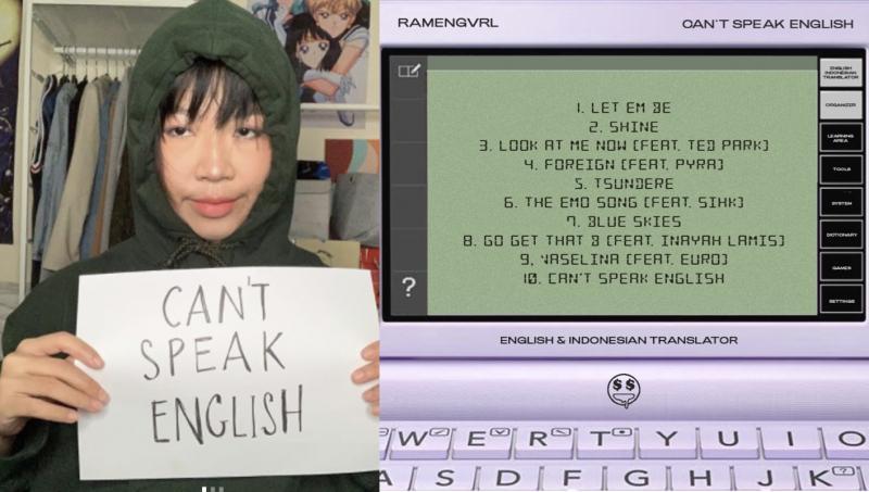 "RAMENGVRL RILIS MUSIC VIDEO ""THE EMO SONG"" DAN ALBUM PERDANA ""CAN'T SPEAK ENGLISH"" MINGGU INI"