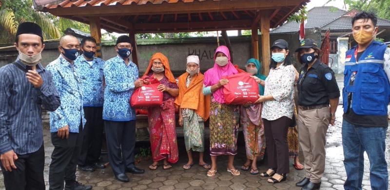 500 Paket Sembako Dan 1.000 Masker Kain Diserahkan Ke Dinas Sosial