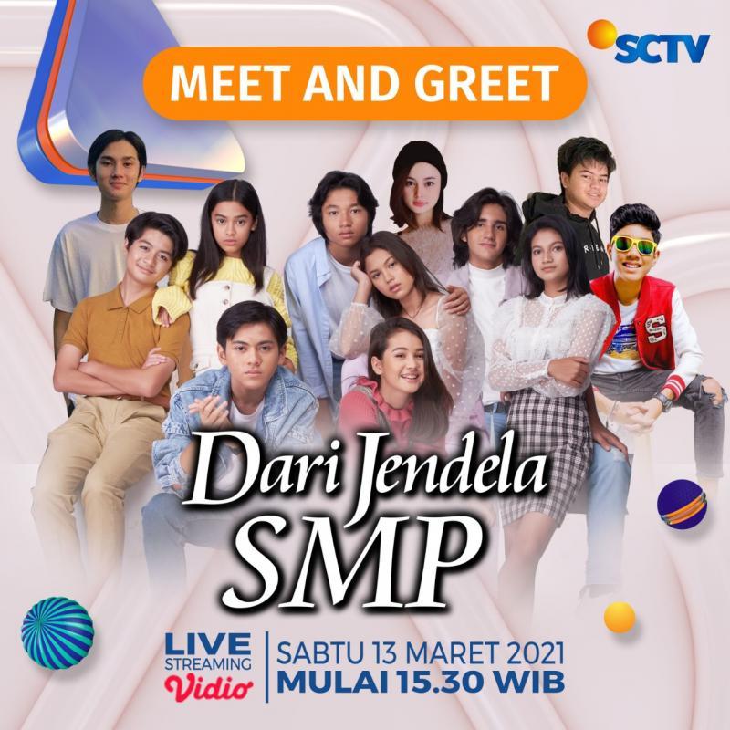 """Meet and Greet """"Dari Jendela SMP"""" Bersama Pemeran"""