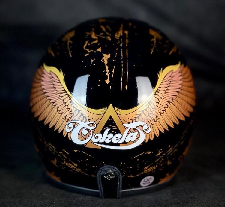 COKELAT Rilis Helm Signature 'Sayap Garuda'