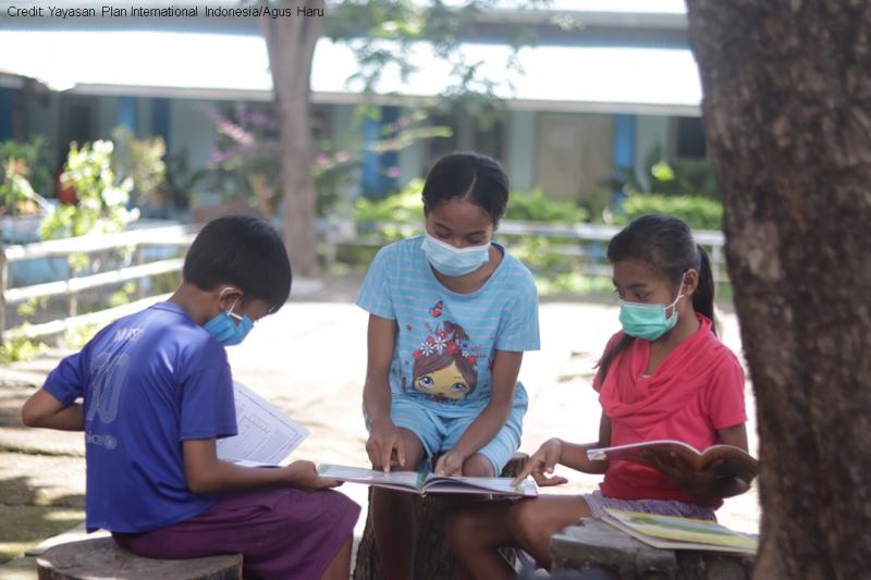 Anak-anak Penyintas Badai Bandang di Lembata Masuki Tahap Pemulihan
