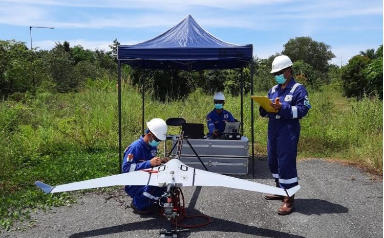 Teknologi Drone Terbukti Efektif Membantu Atasi Pencurian Minyak di Wilayah Operasi Migas