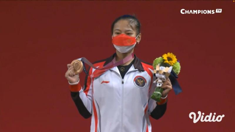 Windy Cantika Aisah menjadi atlet Indonesia pertama yang berhasil menorehkan prestasi di Olimpiade Tokyo 2020