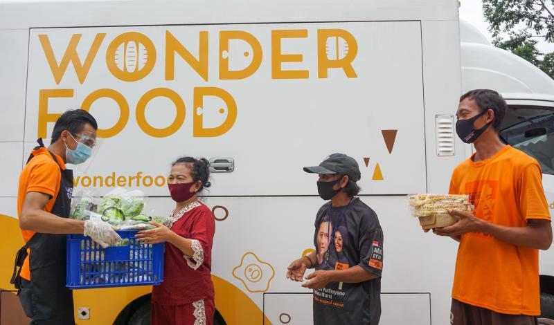 Wonder Food Indonesia, Selamatkan Bahan Pangan Berlebih Untuk Berbagi.
