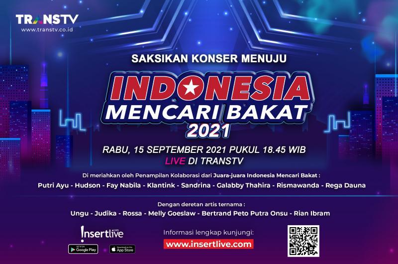 INDONESIA TUNJUKKAN BAKATMU! MENUJU INDONESIA MENCARI BAKAT 2021